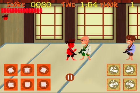 Screenshot iWar Karate Knock Out